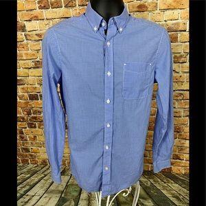 G.H. Bass & Co Button Down Dress Shirt Sz Small